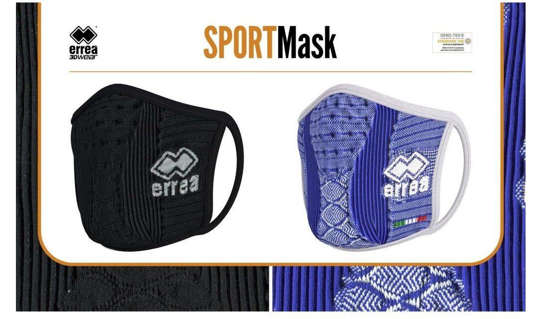 Erreà presenta SPORTMask, la mascherina di filato antibatterico ideale per lo sport